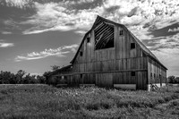 119 Barn of Memories - Black and White