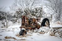 107 Rusted Tractor