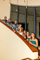 Wedding Party Stairway image 2 (Kiss)